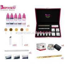 3D Tattoo Microblade Eyebrow Embroidery Kits For Permanent Makeup